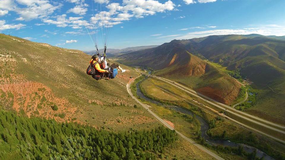 Avon Tandem Paragliding