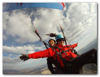 Telluride Tandem Paragliding Flights