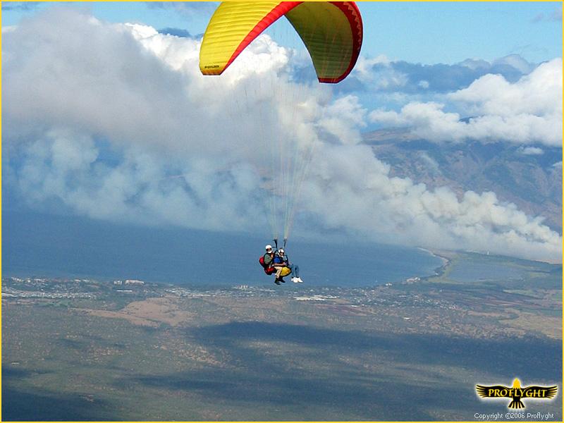 Maui Tandem Paragliding Fly