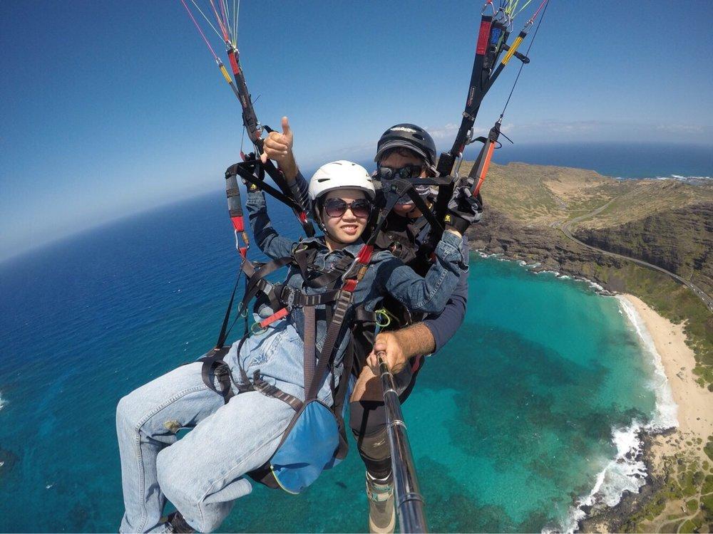 Kauai Tandem Paragliding