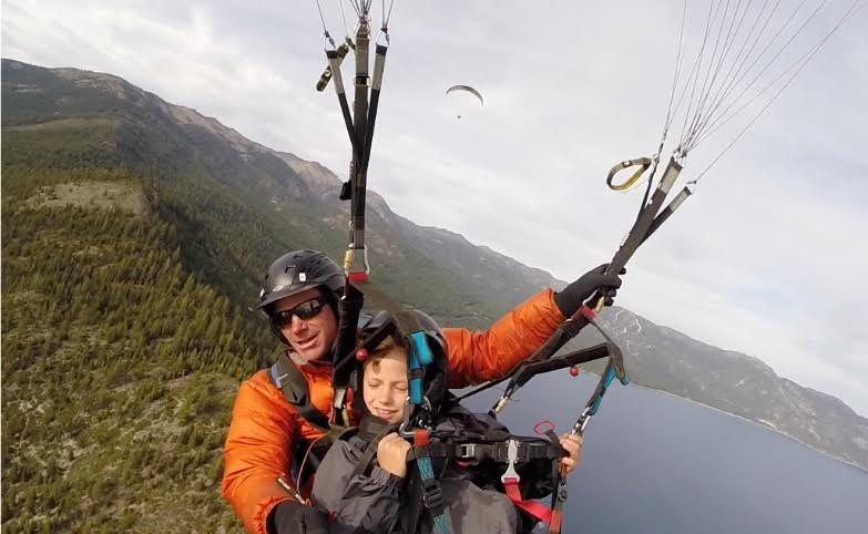 Tandem Paragliding Lake Tahoe