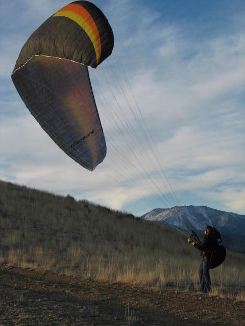 Lake Tahoe Tandem Paragliding