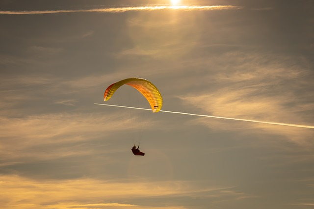 Draper Tandem Paragliding