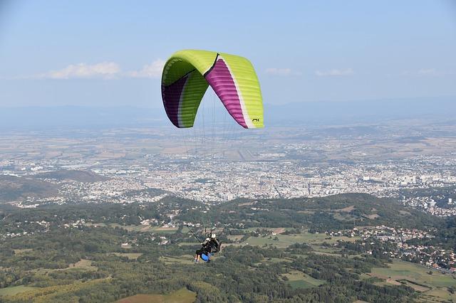 Draper Paragliding Flights