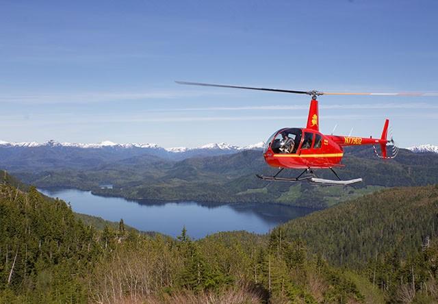 Ketchikan Mountain Lake Helicopter Tour