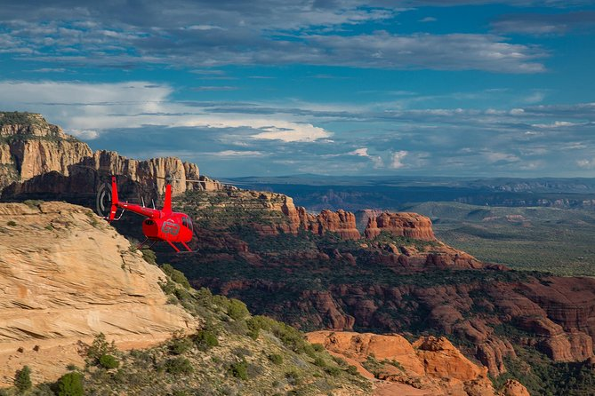Guided Helicopter Tour of Sedona