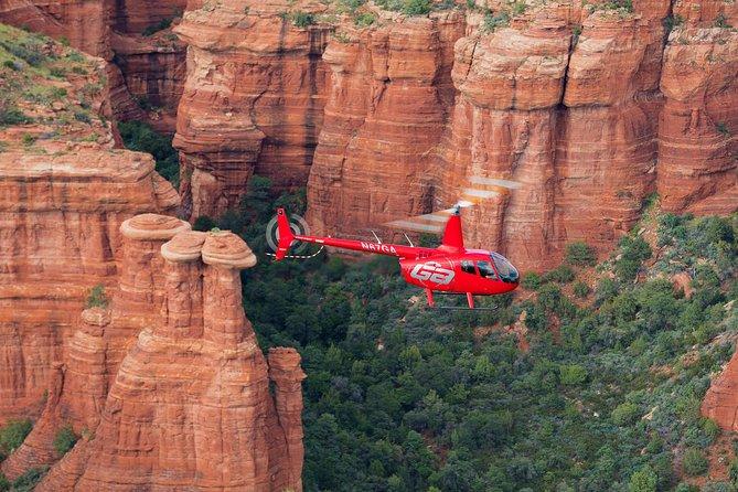 Sedona Helicopter Tour: Desert Thunder Tour