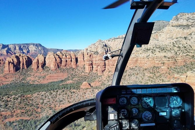 25-Minute Helicopter Tour of Sedona