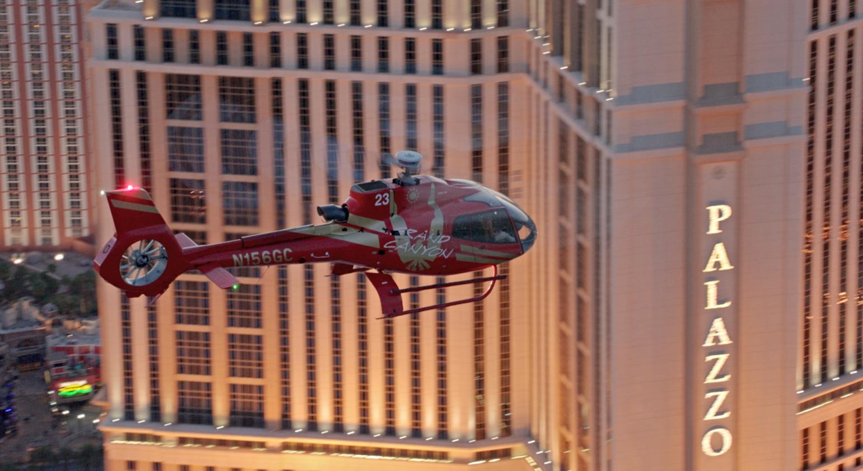 Las Vegas Helicopter Jack of Lights Strip Tour