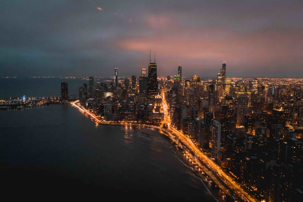 Chicago City Lights Helicopter Tour