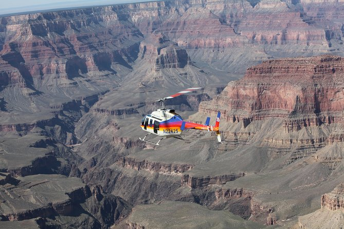 Helicopter Tour of the North Canyon with Optional Hummer Excursion