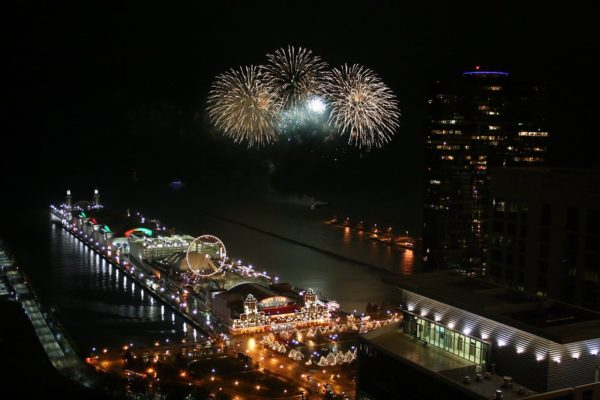 Chicago Fireworks Helicopter Tour