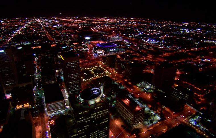 Phoenix Helicopter Tour - City Lights Tour