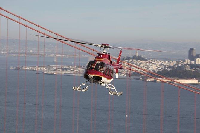 San Francisco Helicopter Tour - Golden Gate