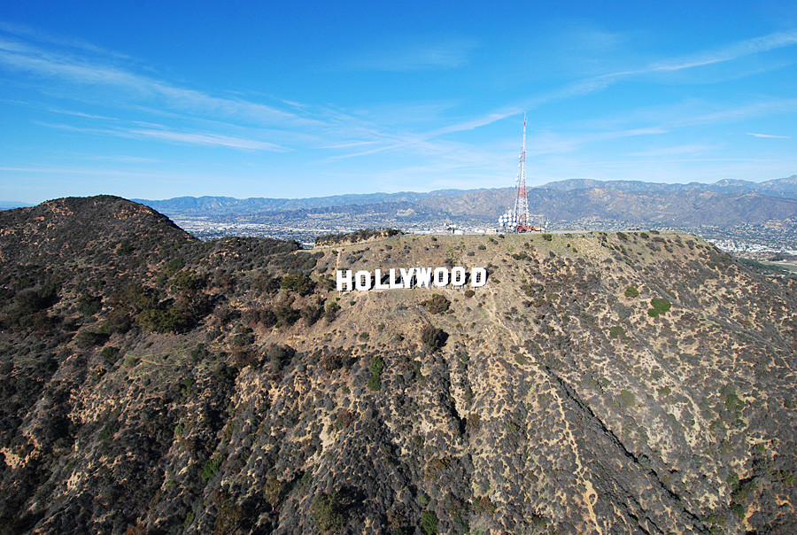Hollywood Helicopter Tour