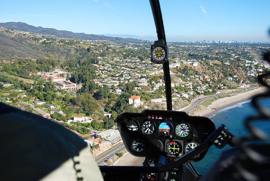 Malibu Coast Helicopter Tour