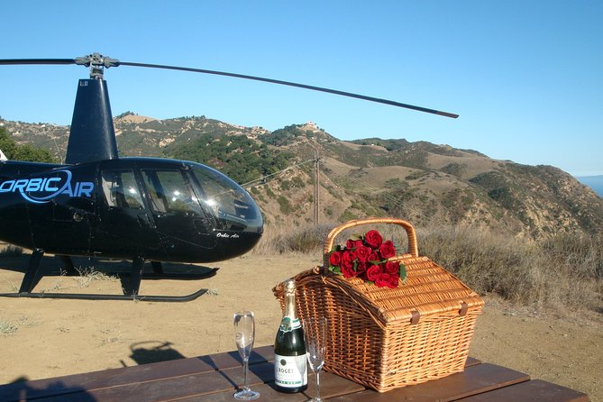 Los Angeles Helicopter Tour with Romantic Mountaintop Landing