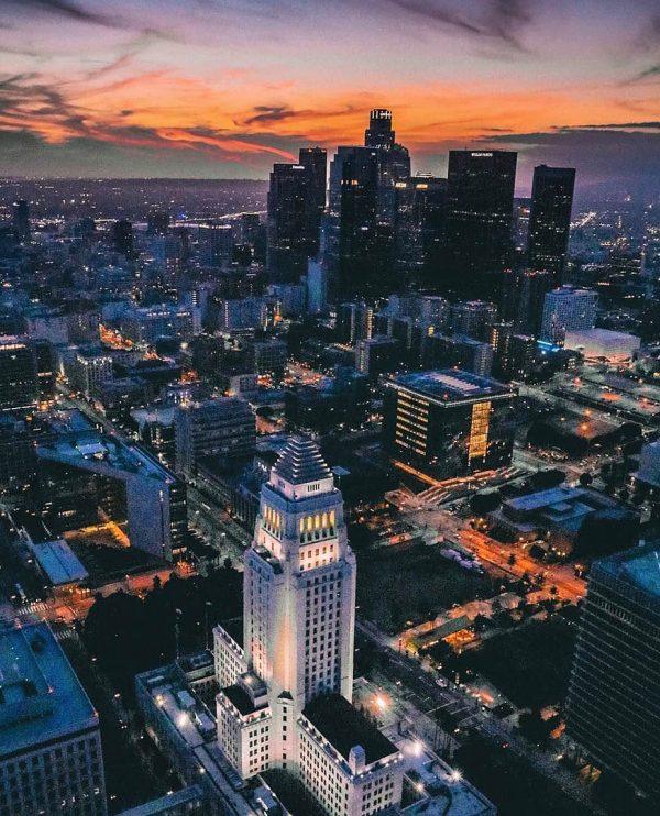 Los Angeles Helicopter Tour - DTLA Tour