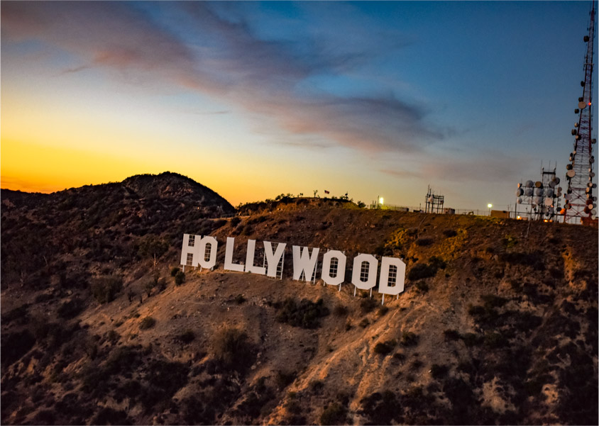 Los Angeles Helicopter Tour - Hollywood Strip Tour