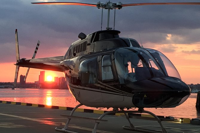 VIP Baltimore Helicopter Tour with Dinner