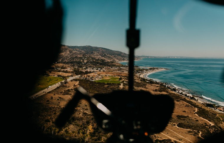 45 Minute OC Surf Cities Helicopter Tour