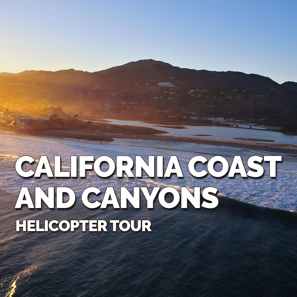 California Coast & Canyons Helicopter Tour