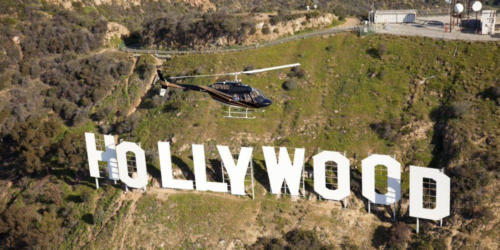 Hooray or Hollywood Helicopter Tour