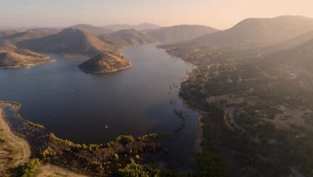 Lake Hodges Helicopter Tour