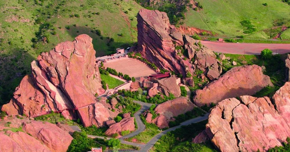 Denver Helicopter Tours - RED ROCKS
