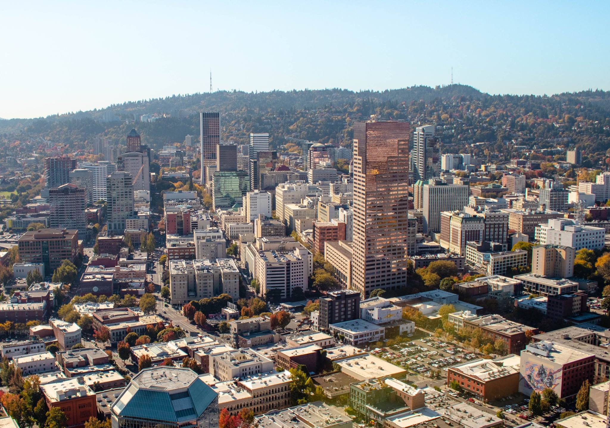 Downtown Portland Helicopter Tour