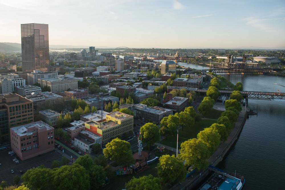 Portland City Parks Helicopter Tour