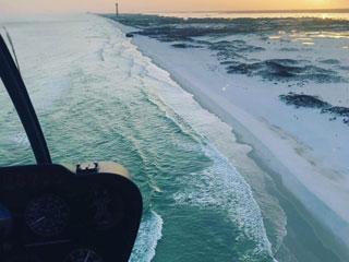 Destin Helicopter Tour - Beach Run