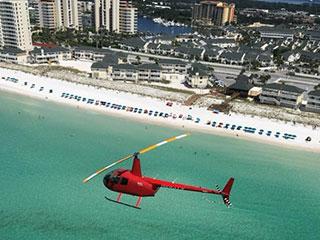 Destin Helicopter Tour - Dolphin Run