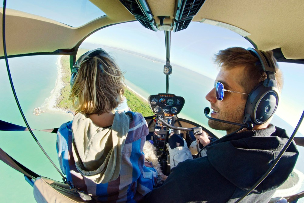 Tampa Helicopter Tour - Ultimate Beach