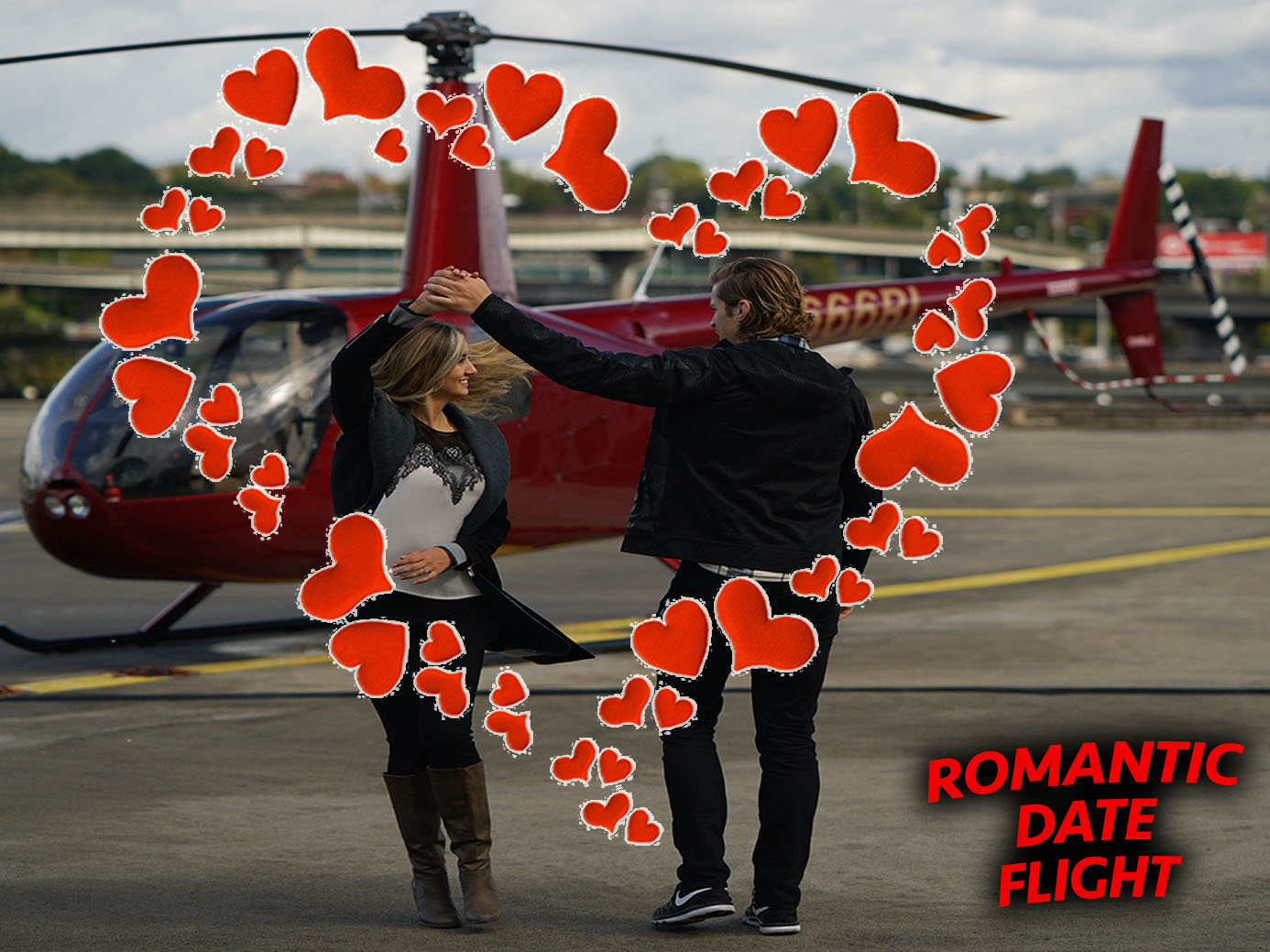 Portland Romantic Date Helicopter Tour