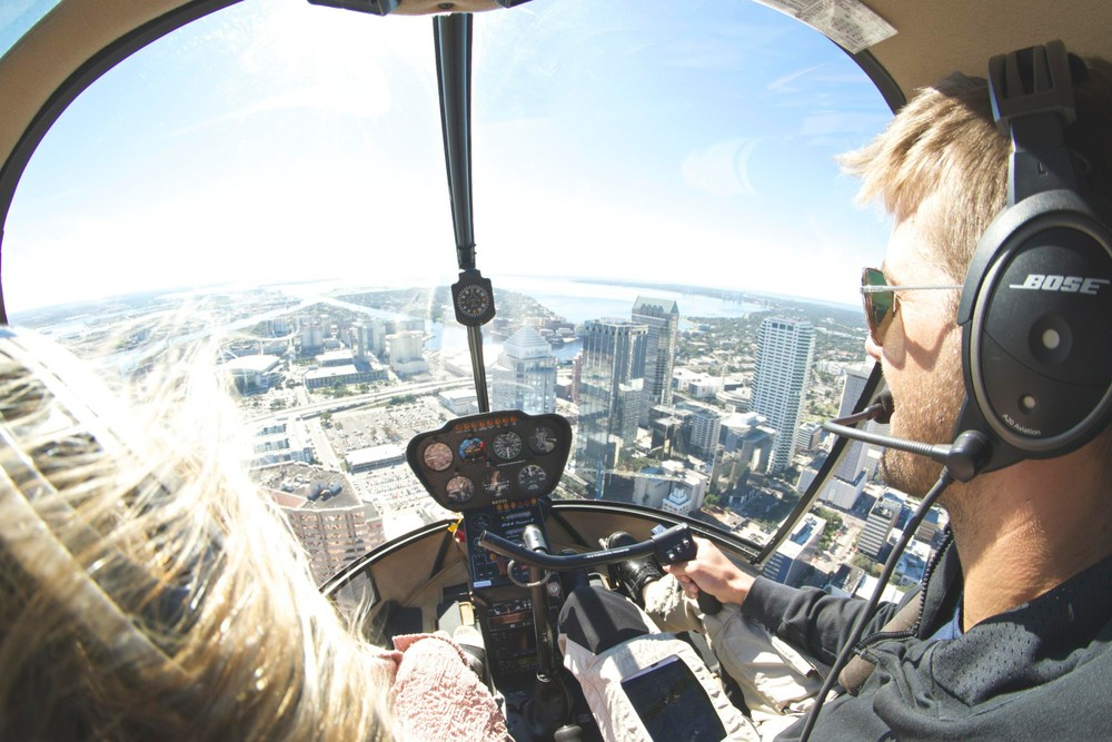 Tampa Helicopter Tour - Downtown
