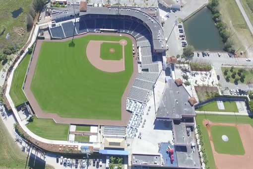 Clearwater Helicopter Tour - Ballfields & Beaches