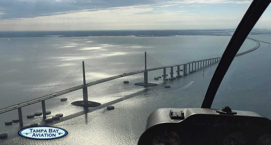 St. Petersburg Helicopter Tour - Skyway Experience