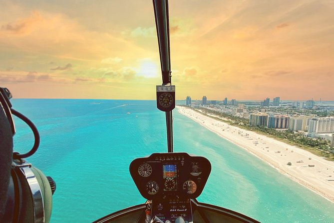 1 Hour Private Helicopter Tour of Miami and South Florida