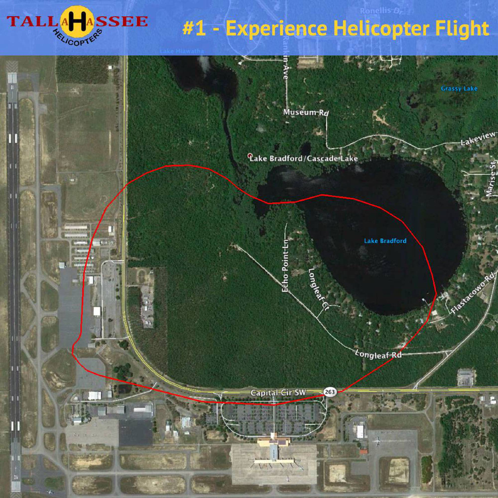 Tallahassee Experience Helicopter Flight