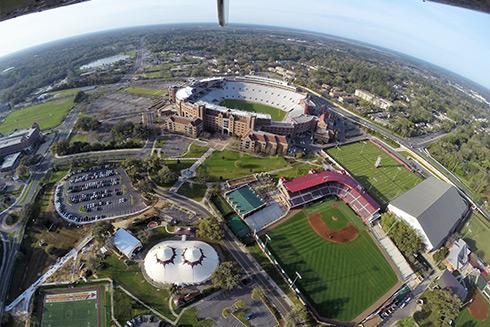 FSU Stadium Helicopter Tour