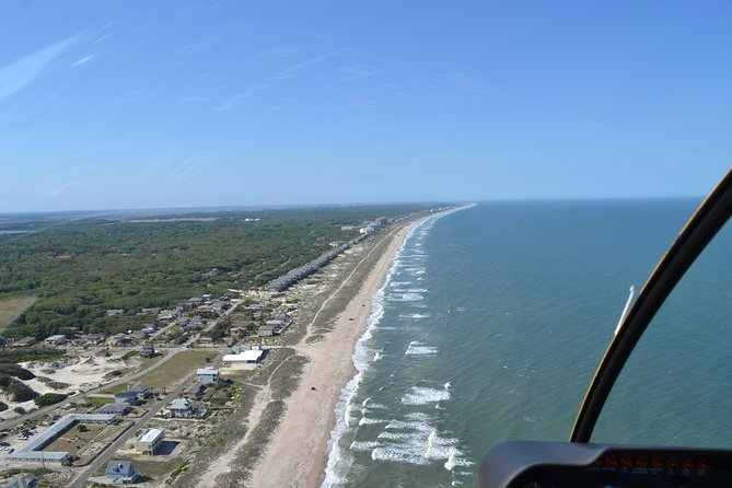 St. Augustine Beach and Old Downtown Helicopter Tour