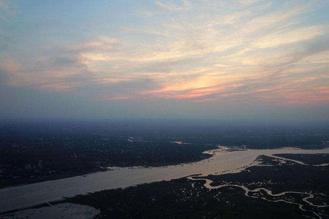 Sunset Flight above St. Augustine