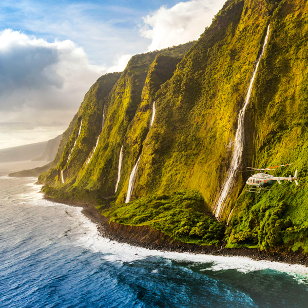 Kohala Coast & Waterfalls