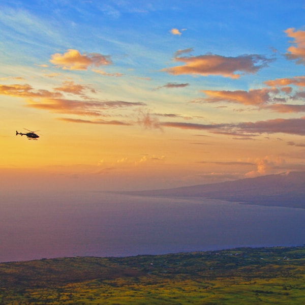 Sunset Experience Helicopter Tour