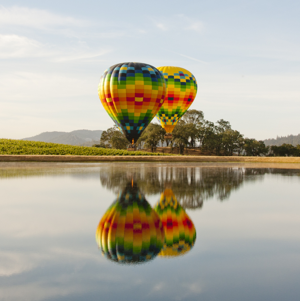 Napa Valley Adventure Aloft Hot Air Balloon Ride