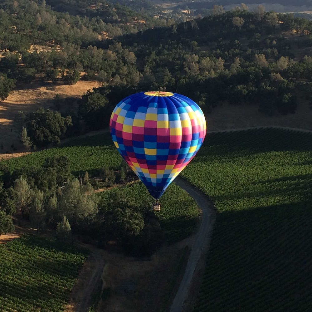 Napa Valley Exclusive Hot Air Balloon Flight for Two Passengers