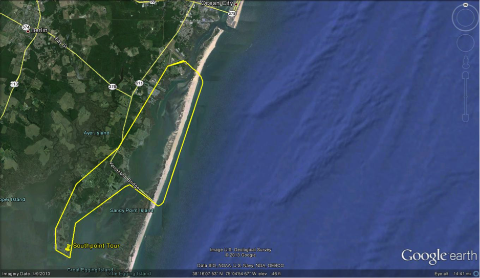 Ocean City South Point Helicopter Tour
