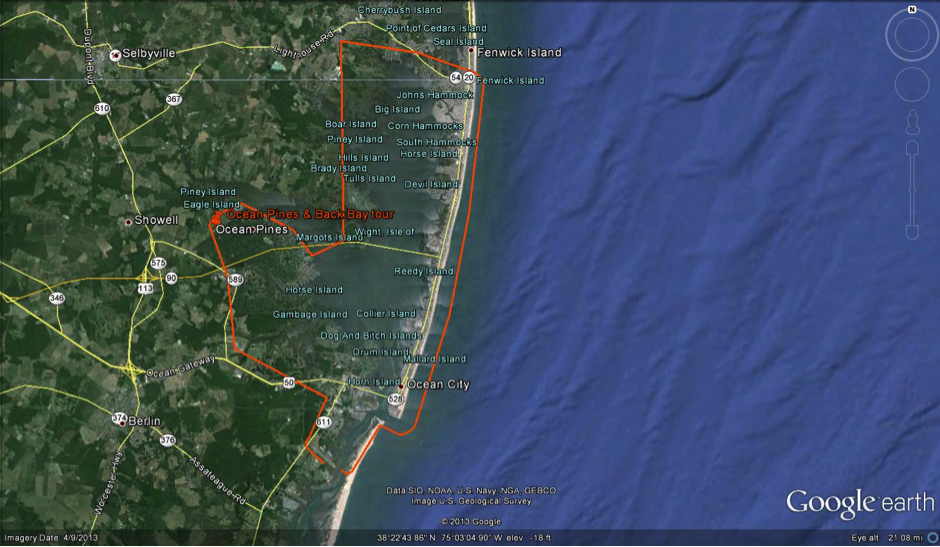Ocean Pines & Back Bay Helicopter Tour