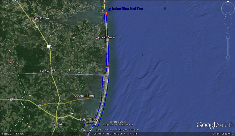 Indian River Inlet Helicopter Tour